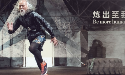 China's Hottest Grandpa Is The New Face Of Reebok