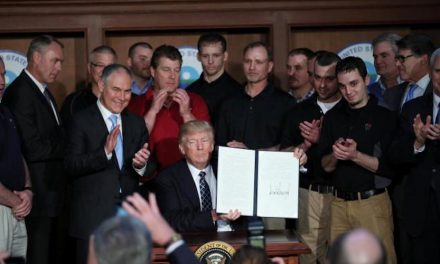 President Trump Signs Executive Order Impacting Climate
