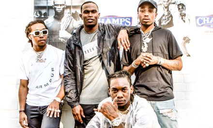 Champs Launches 'The Moment' Starring Julio Jones And MIGOS