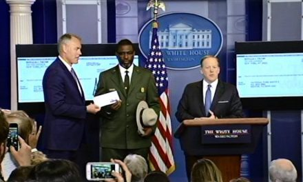 President Trump Donates First-Quarter Salary To NPS