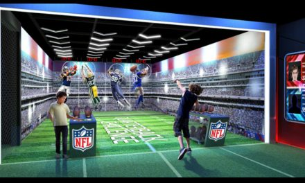 First Views Of The New NFL Experience Times Square
