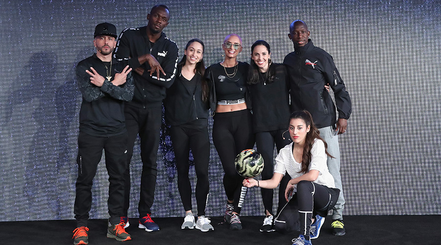 Puma Rolls Out Netfit At Star-Studded NYC Event