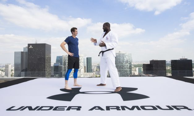 Andy Murray Gets A Judo Lesson, Courtesy Of Under Armour