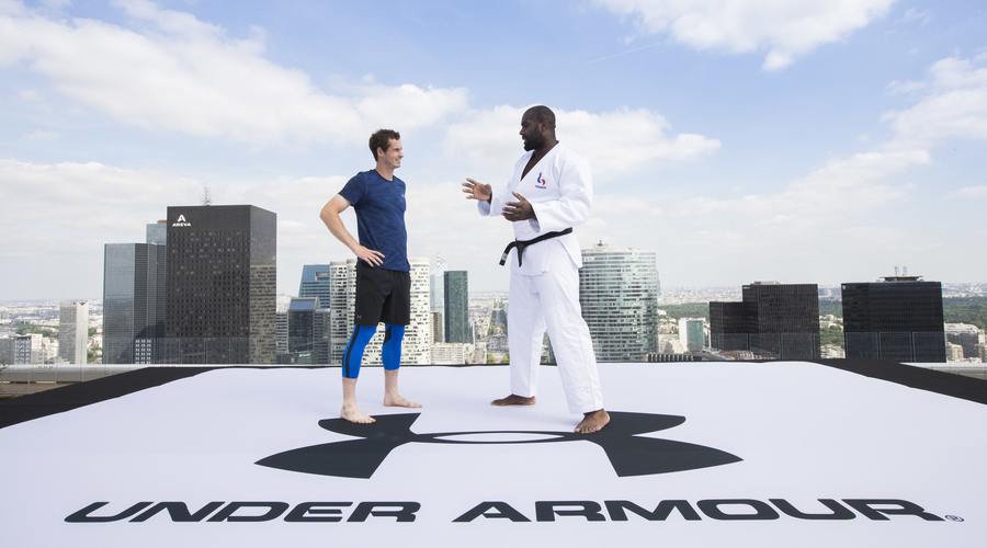 925617fe8 Andy Murray Gets A Judo Lesson, Courtesy Of Under Armour | SGB Media ...