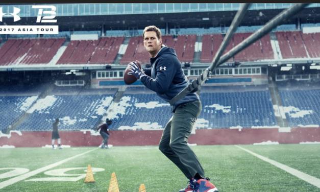 Under Armour Announces 2017 Tom Brady Asia Tour