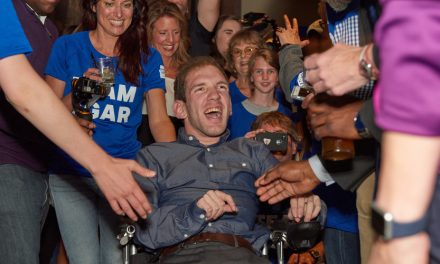 Under Armour Throws Surprise Party For Athlete With Cerebral Palsy