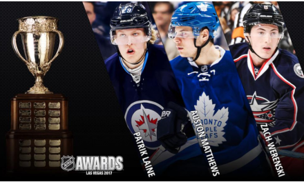 Bauer Hockey Athletes Finalists For NHL Rookie Of The Year