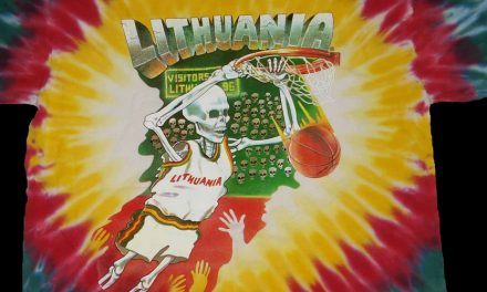 Original 1992 Skullman Basketball Uniforms Return To Lithuania