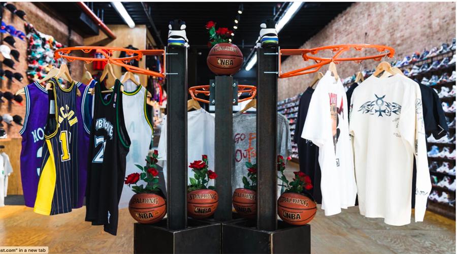 Flight Club, Brooklyn Vintage Club Create NBA Time Machine