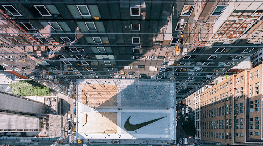 Nike Opens New Headquarters In New York