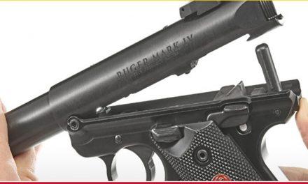 RECALL: Ruger Mark IV Pistols