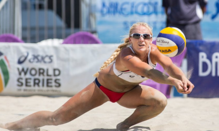 Mikasa Signs Beach Volleyball Phenom Sara Hughes