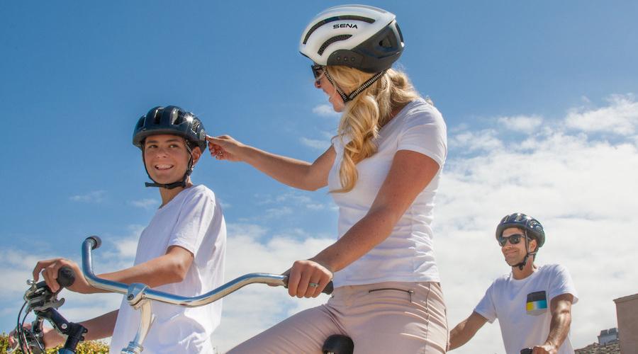 Sena Releases Bluetooth Cycling Helmet