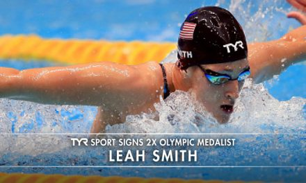 TYR Sport Signs Leah Smith