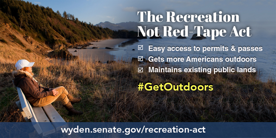 Outdoor Industry Commends Recreation-Not-Red-Tape Act