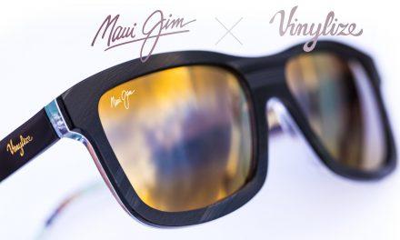 Maui Jim x Vinylize Collaborate On Vinyl Vision