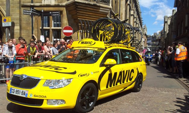 Mavic Expands Tour de France Sponsorship