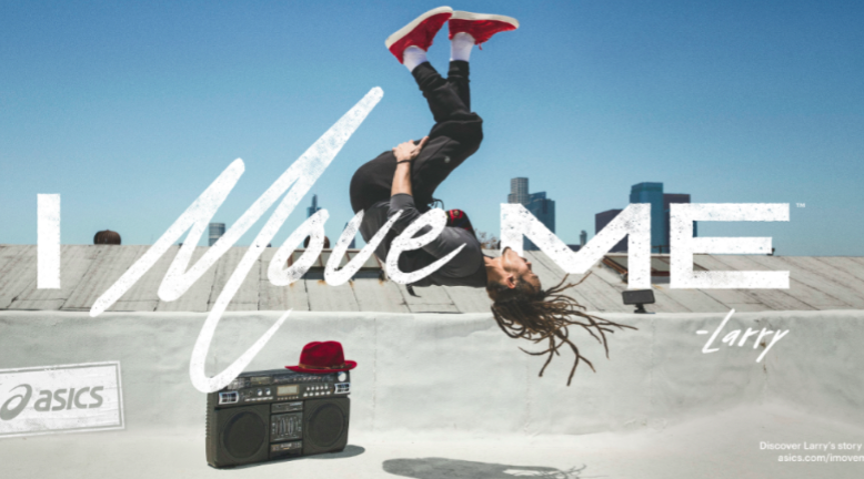 Asics Launches I Move Me Brand Activation