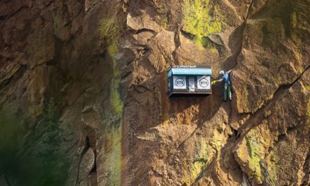 Cliffside Shop Pops Up On Rock Wall