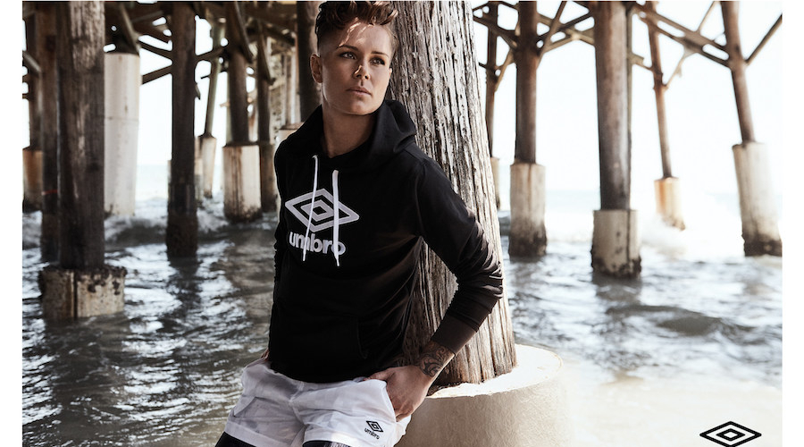 Umbro Unveils Marketing Campaign With Ashlyn Harris