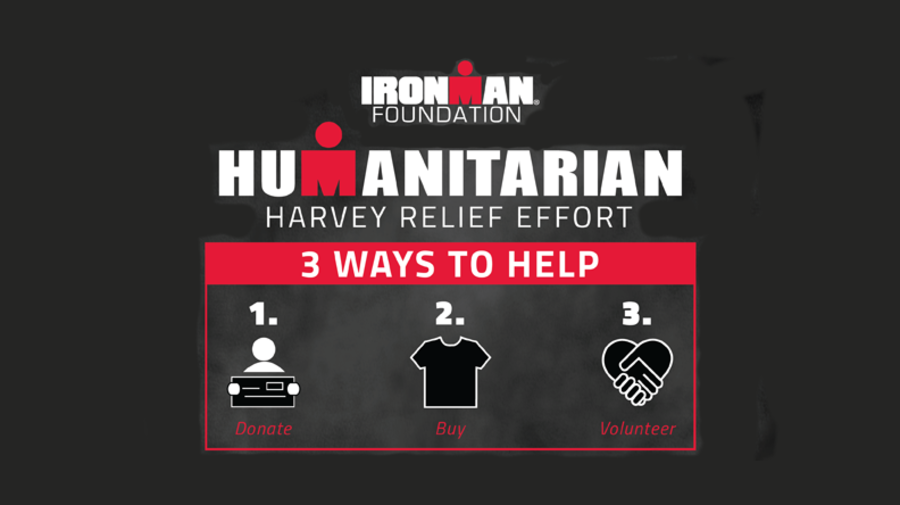 Ironman Foundation Launches Harvey Relief Effort