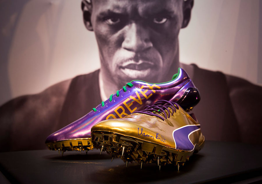 quality design 3bf90 95c48 Usain Bolt  Legacy Spikes Commemorate His Career