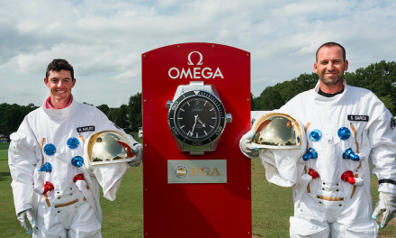 "Omega Ambassadors Become ""Astronauts For The Day"" At 2017 PGA Championship"