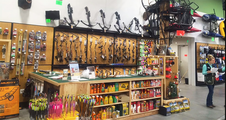 warehouse sportsman sportsmans california location ninth opens outdoor