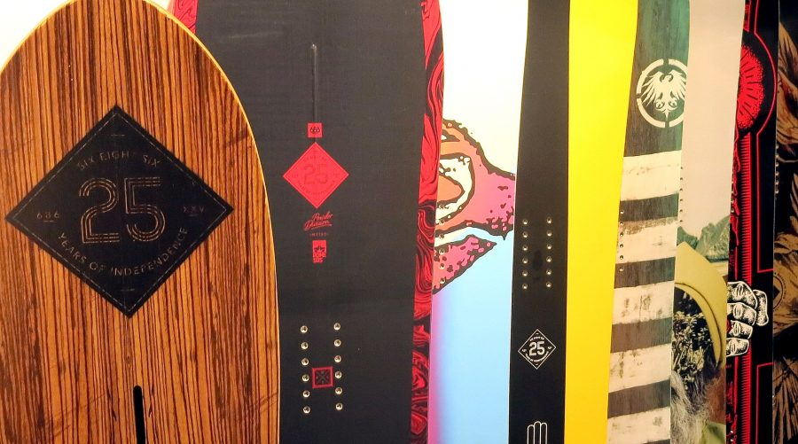 686 25th Anniversary Snowboards