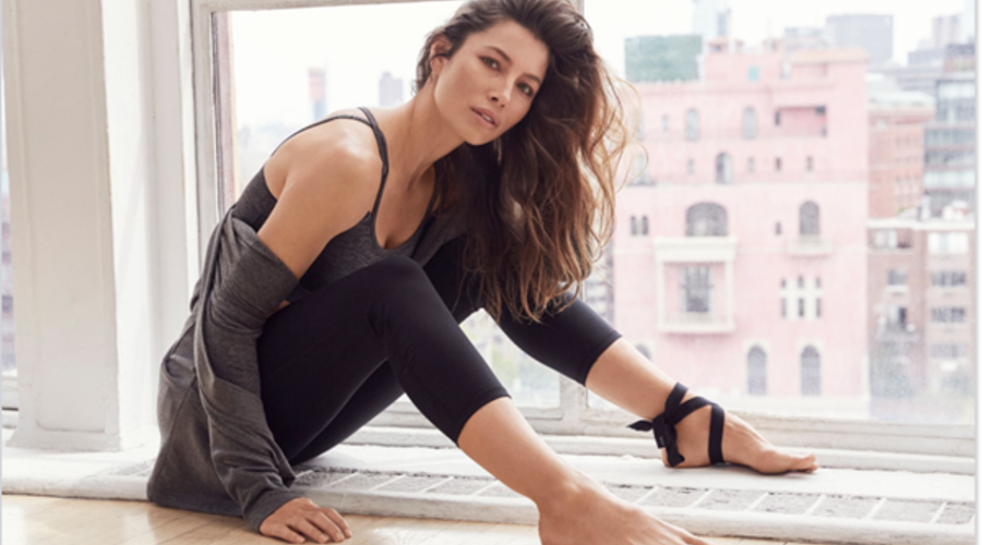 Jessica Biel Named Gaiam's First Brand Ambassador