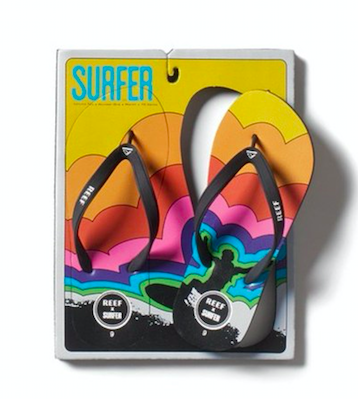 Reef x surfer