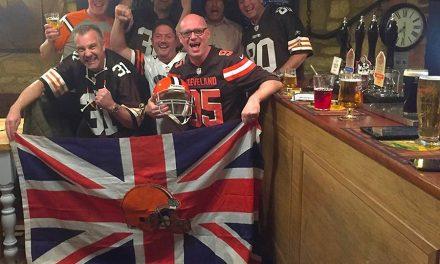 NFL London 2017… Cleveland Browns vs. Minnesota Vikings October 29
