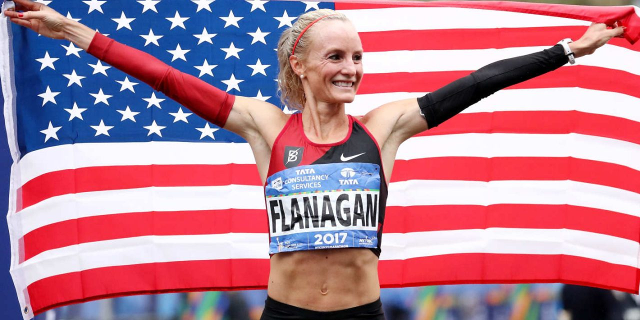 Shalane Flanagan … Wins New York City Marathon