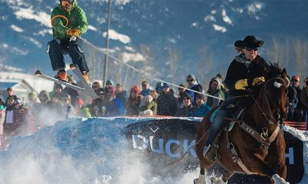 SkiJoring: Hold On For Dear Life