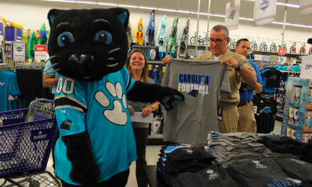 Academy Sports Surprises Vet At Concord, NC Store