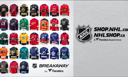 """NHL And Fanatics Launch """"Breakaway"""" Fan Jersey"""