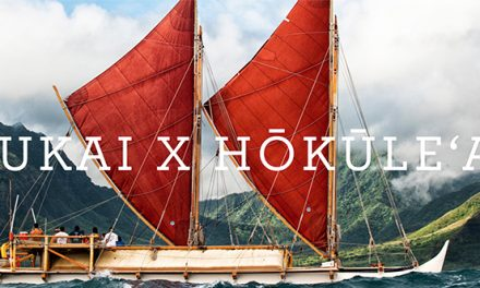 OluKai x Hokule'a's Mahalo Hawaii Set Sail At Honolua Bay