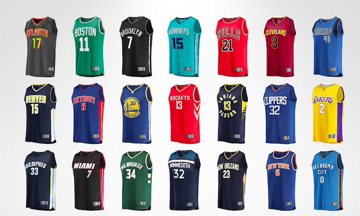 new style a5fb2 66723 Fanatics Unveils 'Fast Break' NBA Jerseys | SGB Media Online
