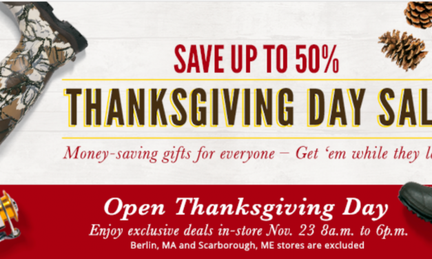 Cabela's To Open On Thanksgiving
