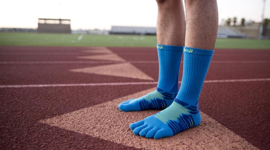 Go The Distance In Toe-riffic Ultra Run Socks From Injinji