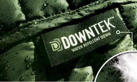 DownTek PFC-Free Water Repellent Down