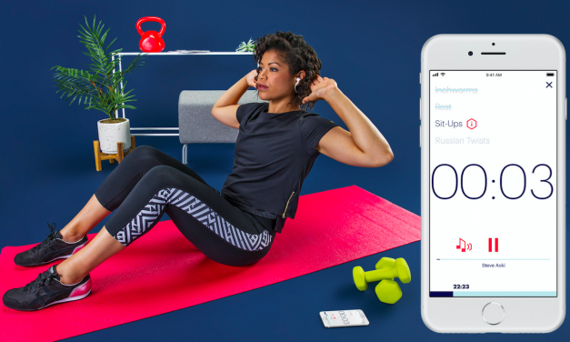 Asics Launches Fitness-Class App