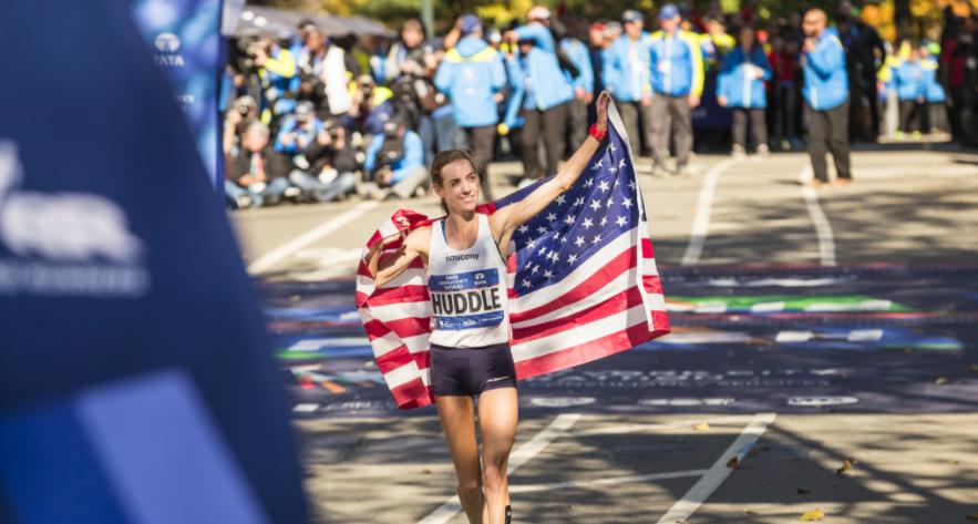 Saucony Sponsors Molly Huddle To Run Boston Marathon