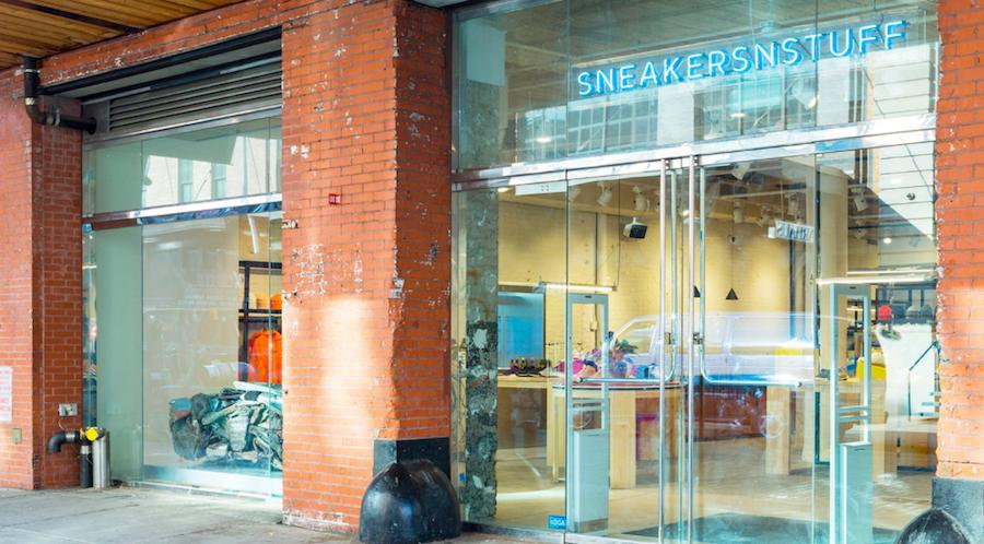 Sneakersnstuff Opens First U.S. Store