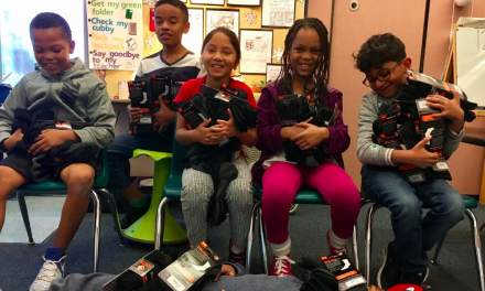 Implus Helps Elementary School Class Donate 1,000 Pairs Of Socks To The Homeless