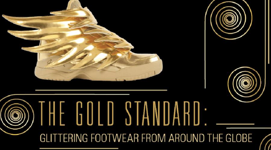 Golden Shoes Light Up Toronto's Bata Shoe Museum
