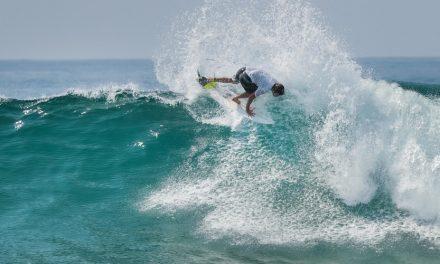 BLDG Active Sponsors Pro Surfer Damien Hobgood