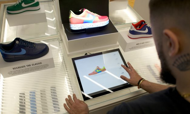 Niketown London Gains Augmented Video Mapping Customization