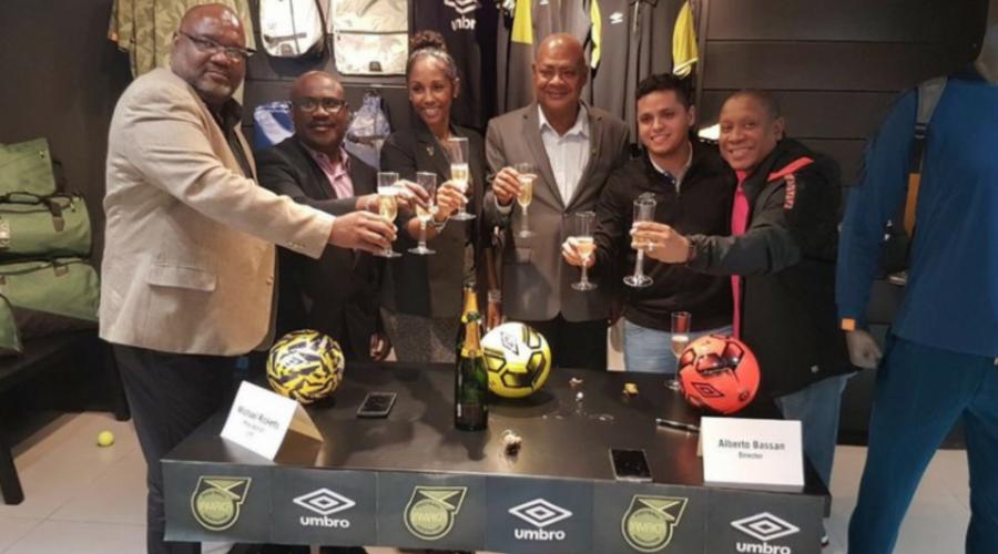 Umbro Signs Jamaica Football Federation
