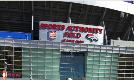 'Sports Authority Field' Sign Being Removed From Broncos Stadium